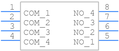 DS04-254-2-04BK-SMT - CUI Devices - PCB symbol