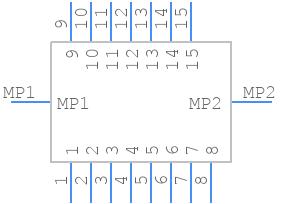 502598-1593 - Molex - PCB symbol