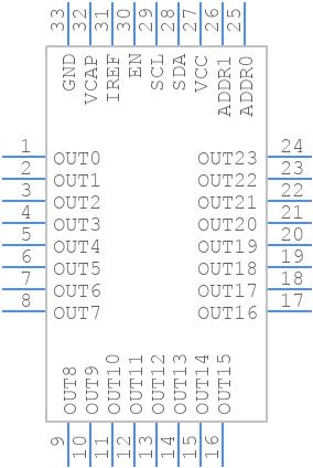 LP5024RSMR - Texas Instruments - PCB symbol