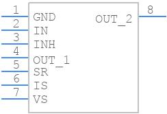 IFX007TAUMA1 - Infineon - PCB symbol