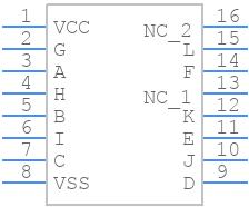 CD4049UBE - Texas Instruments - PCB Footprint & Symbol Download