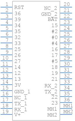 4172 - Adafruit - PCB symbol