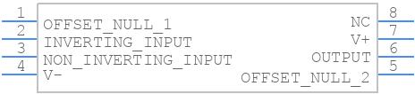 LM741CN/NOPB - Texas Instruments - PCB symbol