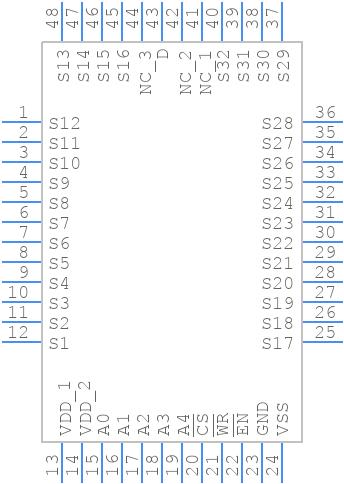 ADG732BSUZ - Analog Devices - PCB symbol