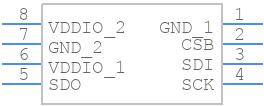 bmp280 - Bosch Sensortec - PCB symbol