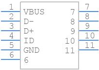 47346-1001 - Molex - PCB symbol