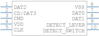 503398-1892 - Molex - PCB symbol