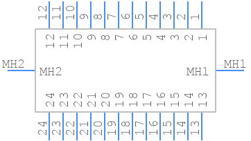112-024-213R001 - NorComp - PCB symbol