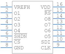 AD8801ARZ - Analog Devices - PCB symbol