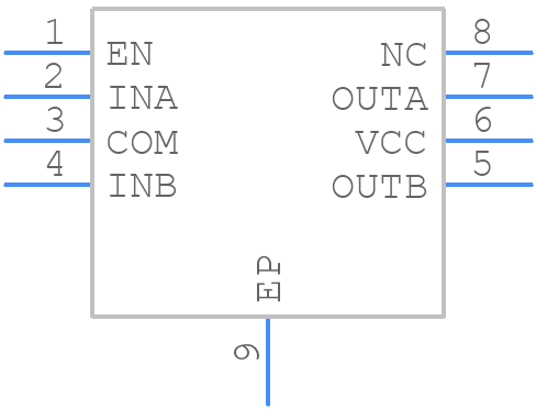 AUIRB24427STR - International Rectifier - PCB symbol