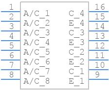 ILQ620-X009T - Vishay - PCB symbol